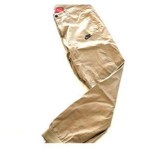 Nike tan sweats